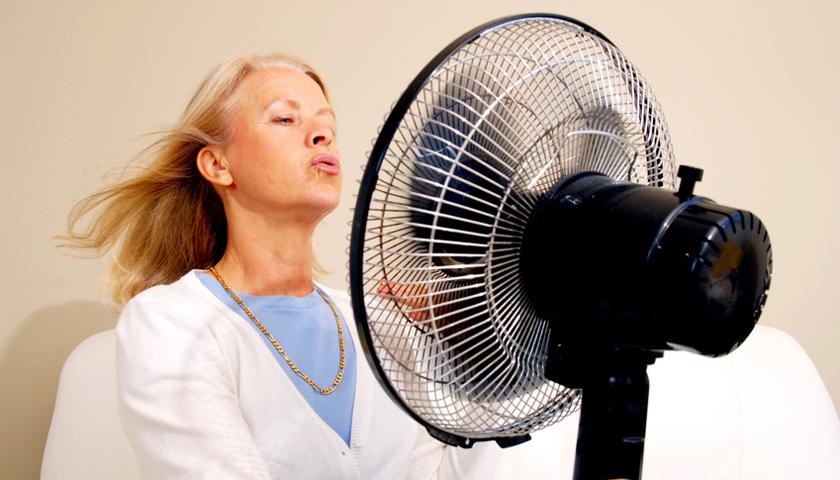 Ärzte nehmen Hitzewallungen bei Frauen mit Brustkrebs nicht ernst