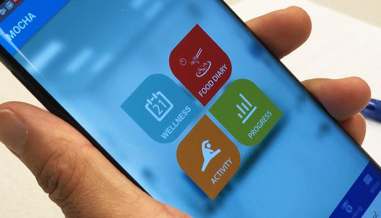 Brustkrebs-App hilft beim Abnehmen! (c) Houston Methodist